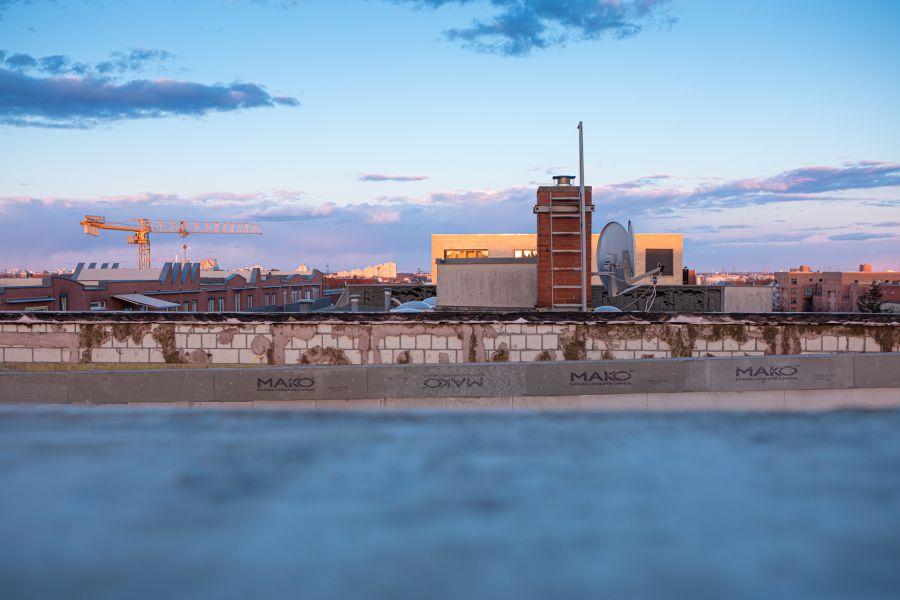 Blick vom Dach Baustelle Pulse, Delbrückstraße Berlin – ein Projekt von Ioannis Moraitis / hedera bauwert