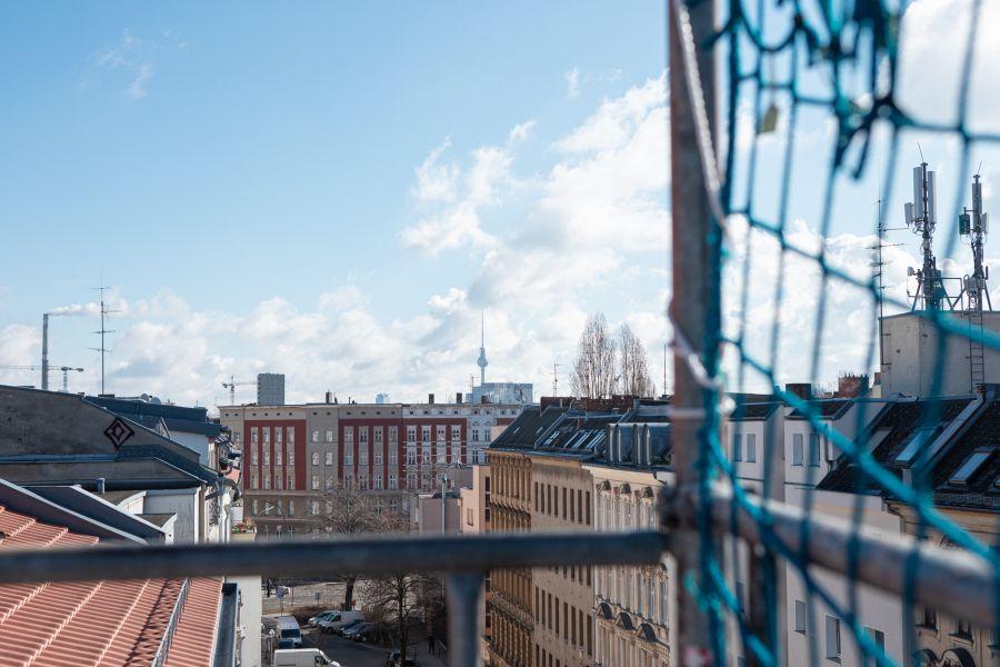 Blick über Berlin vom Havelberger, einem Sanierungsprojekt von Ioannis Moraitis und der hedera bauwert