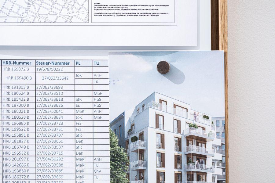 Neubauprojekt von Ioannis Moraitis  und der hedera bauwert